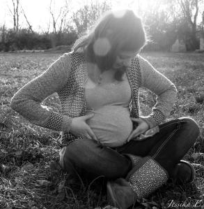 I had the opportunity of taking my friend's maternity photos. We managed to get out on one of the last warm days of fall and the sunset worked really well for the shoot.     My friend is a big fan of black and white photos, so I made extra copies for her.